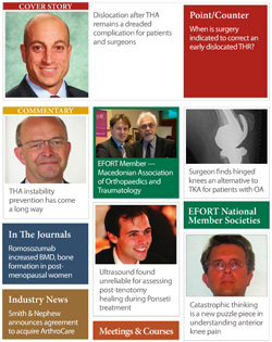 EFORT Orthopaedics Today Europe - February 2014 issue