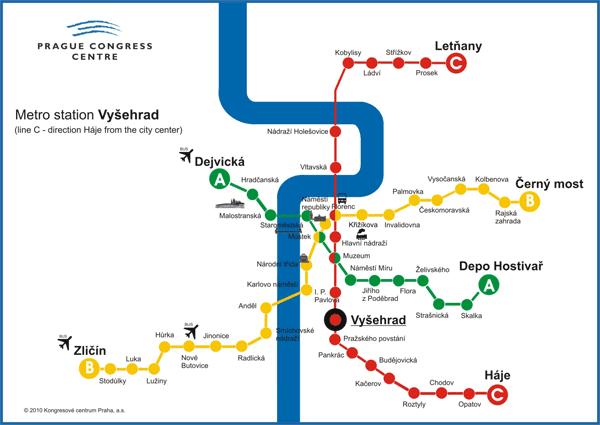 Prague underground line C