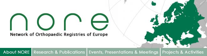 NORE Network of Orthopaedic Registries of Europe