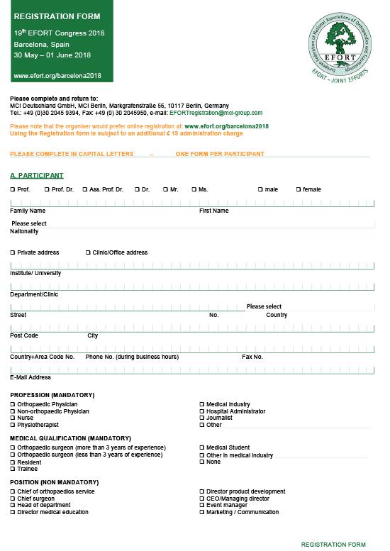 EFORT2018_Registration_Form-550px